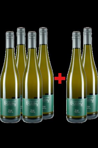 4+2 Binger Riesling Spätlese Ortswein-Paket